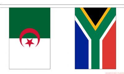 AFRICAN NATIONS - 16 METRE BUNTING (53 FLAGS)
